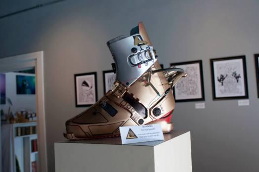 Anti-gravity boots