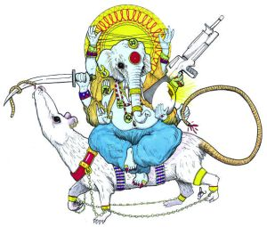 GANESH ON RATsm