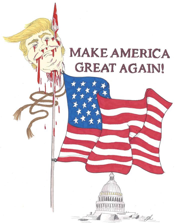 trump on flagpolesm